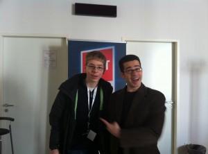 Ich mit Chris Pirillo, Gründer des Blog-Netzwerkes LockerGnome.com